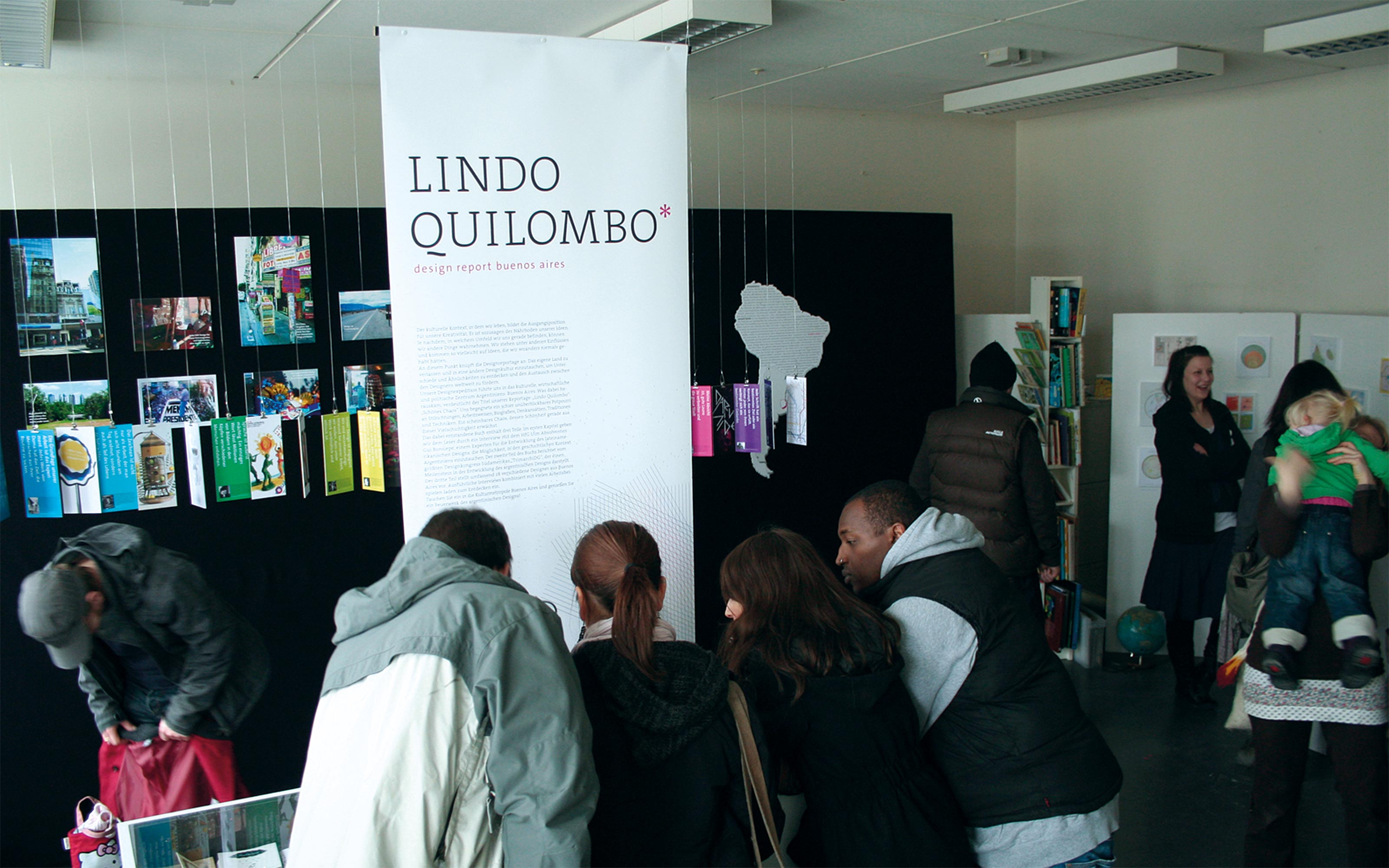 lindo quilombo ausstellung