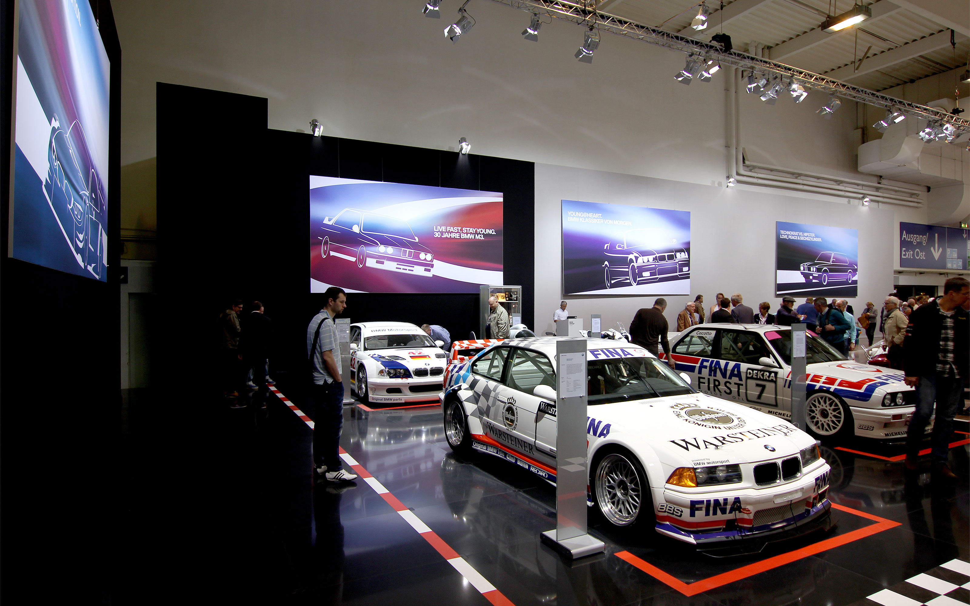 maniana-design bmw messe