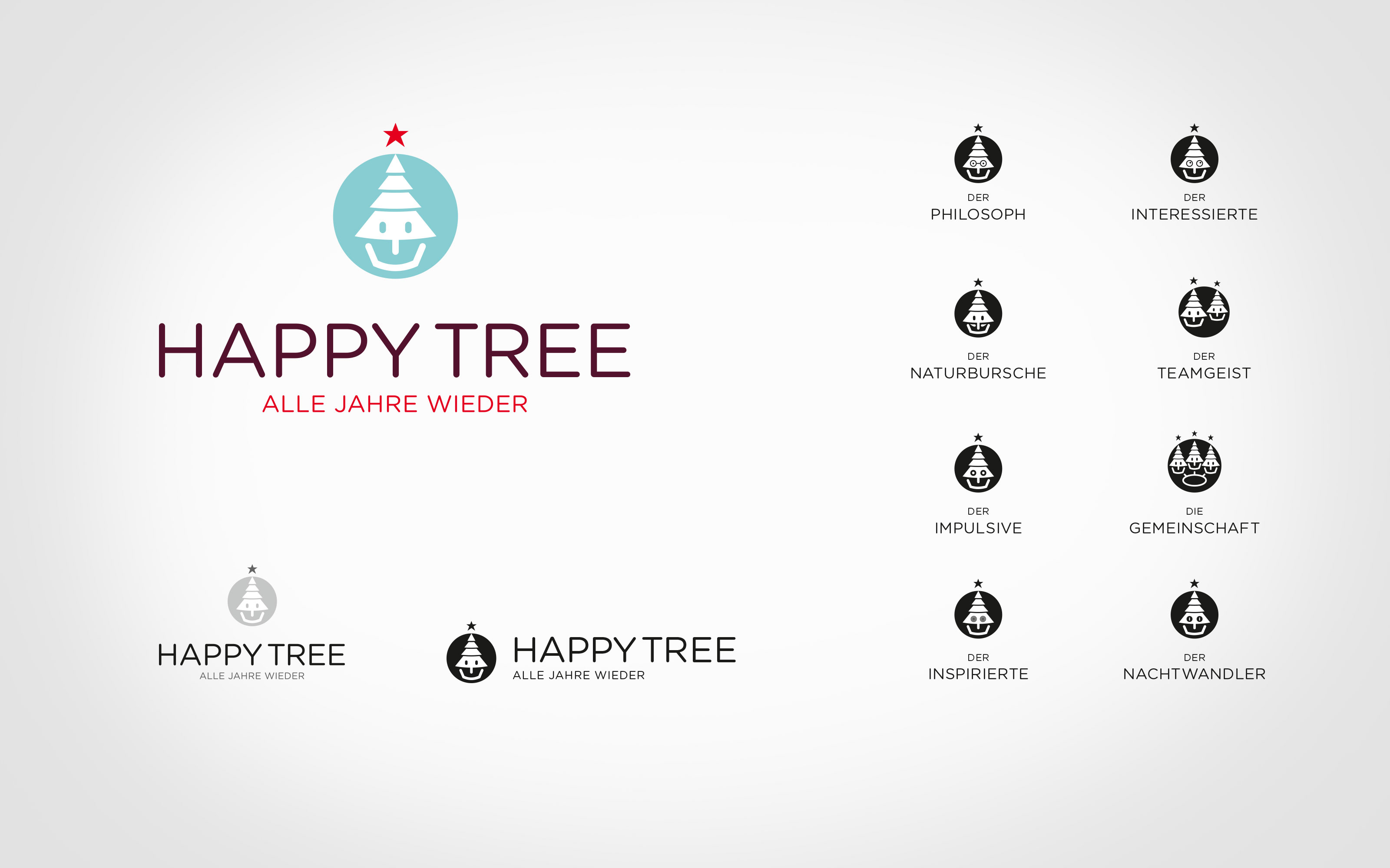 maniana-design happy-tree logos