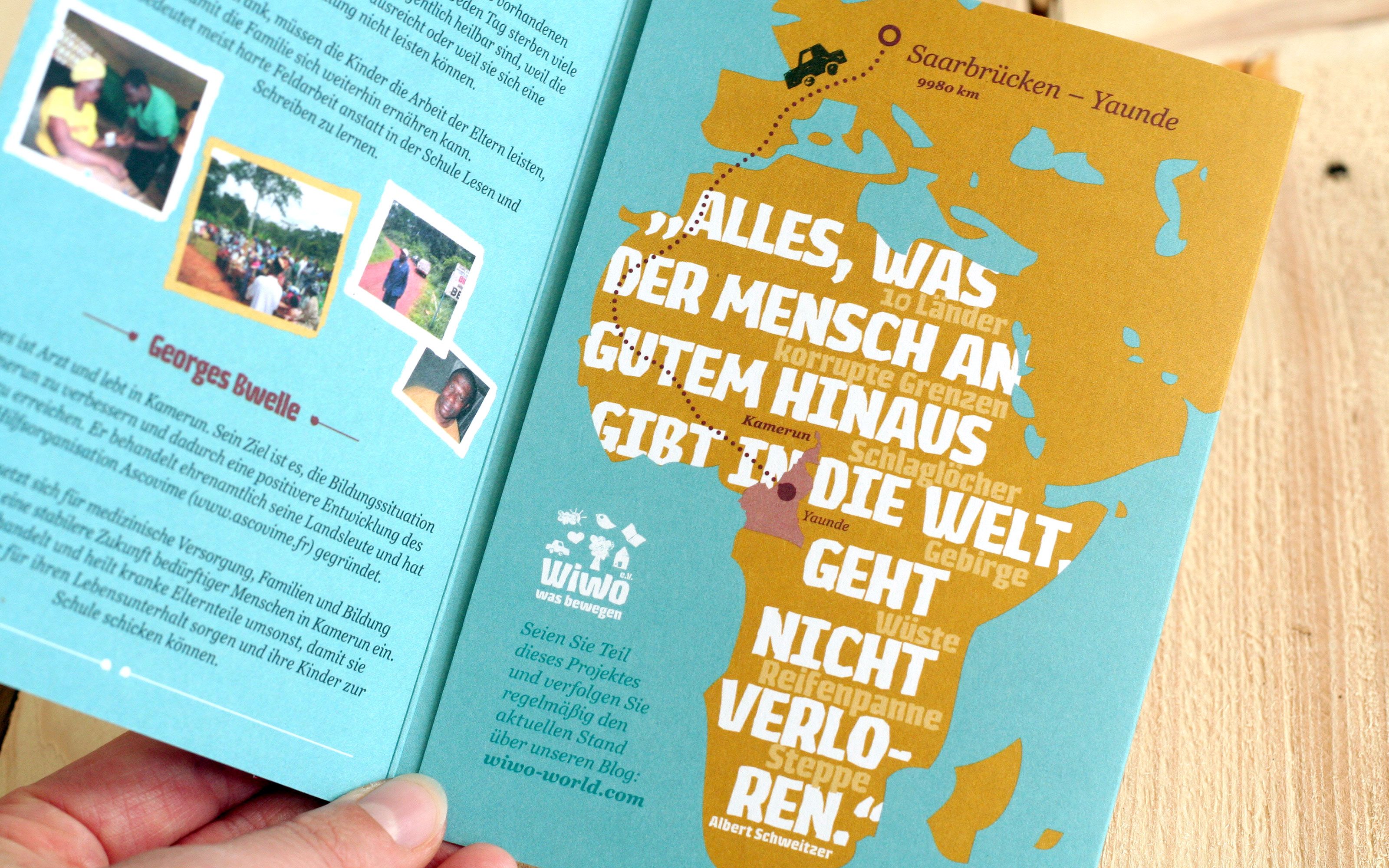 maniana-design wiwo aktionsflyer karte
